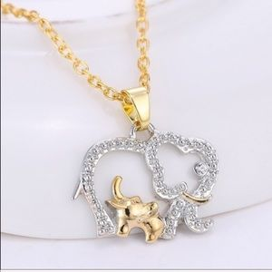 Jewelry - Elephant necklace - good luck